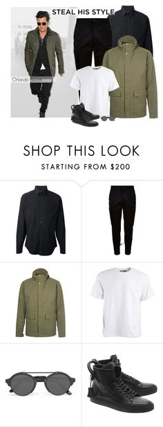 """""""Steal His Style: Orlando Bloom"""" by makica-brate ❤ liked on Polyvore featuring Gucci, Marcelo Burlon, Norse Projects, Alexander Wang, Illesteva, BUSCEMI, men's fashion, menswear, MustHave and stylesteal"""