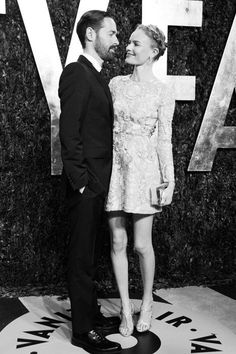 """Premios Oscar 2013 """"after party"""". Michael Polish and Kate Bosworth"""