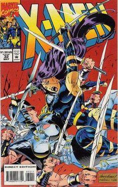 X Men 32 1994 Psylocke Spiral Archangel Fabian Nicieza Andy Kubert Marvel Marvel Comics, Marvel E Dc, Marvel Comic Books, Disney Marvel, Comic Book Heroes, Comic Books Art, Marvel Universe, Marvel Heroes, X Men