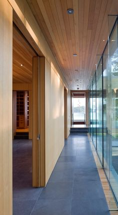 Ivan Hunter Photography Inc.  The design of this Gulf Islands' private residence responds to the Client's brief for the creation a 'modern log cabin' on a ...