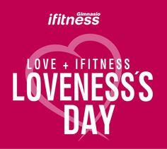 LOVE + IFITNESS #sanvalentin #ifitnesslovers