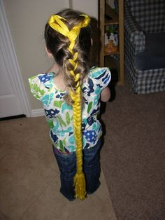 Rapunzel Party Hair