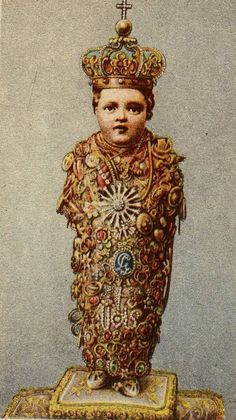 S. Bambino di Aracoeli  The miraculous statue of the Holy Infant in the basilica of Santa Maria Aracoeli in Rome.  The image is particularly venerated during the Christmas season. Every year children of all ages address letters of petition to the Bambino.