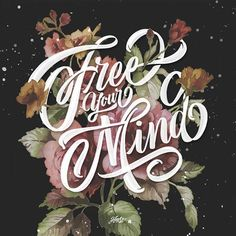 Free your mind.- . . . ___ #typography #letters #hueso #type #font #lettering #typographiyclub #typespire #calligritype #goodtype #handmadefont #typism #thedailytype #thedesigntip #letteringrd #creatorhouse #ligaturecollective #typegang #showusyourtype #picame #typeclan #50words #typehand