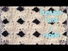 Puntada fácil y reversible para manta de babe #35 (variación de puntada #34) - YouTube