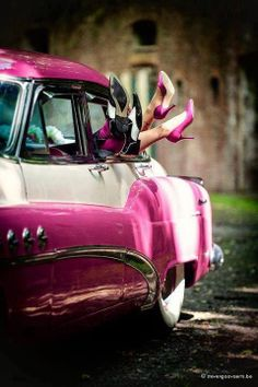 The Pinky Affairs in Buick Super, year 1950