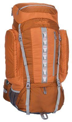 ALPS Mountaineering Cascade 4200 Internal Frame Pack, Rust ** Review more details here : Hiking backpack