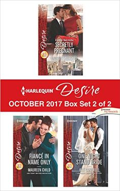 Harlequin Desire October 2017 - Box Set 2 of Little Secrets: Secretly Pregnant\Fiancé in Name Only\One Night Stand Bride: Coming soon! Harlequin Desire October 2017 - Box Set 2 of 2 by Andrea Laurence,Maureen Child,Kat Cantrell will be available Oct Mardi Gras Party, One Night Stands, Pregnancy Test, October, Oct 1, Party Guests, Vows, Free Apps, Audiobooks