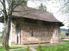 The Painted Monasteries of Bucovina    Humor Monastery    Location: Bucovina – Northeastern Romania  Nearby large town: Suceava (25 miles east)  Access: car, bus (from Suceva), train  Nearest train stations: Gura Humorului