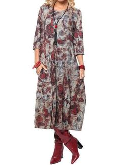 Prints in plus-size clothing that will be at the peak of popularity this fall - Prints in plus-size clothes that will be at the peak of popularity this fall Modest Fashion, Boho Fashion, Fashion Dresses, Fashion Design, Fashion Trends, Over 60 Fashion, Over 50 Womens Fashion, Chic Winter Outfits, Fashion Figures