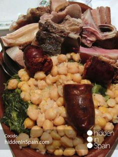 Cocido - Typical meal in León, Madrid and Cantabria