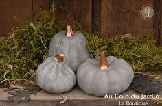 Mini glam pumpkins
