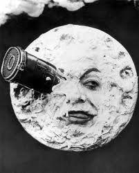 """georges méliès - filme le voyage dans la lune - 1902 - sua estética é até hoje uma referência - inovador em efeitos especiais pra época - inspiração para o clipe de """"tonight tonight"""" (smashing pumpkins) ♥"""