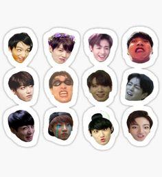 Jungkook Set Sticker