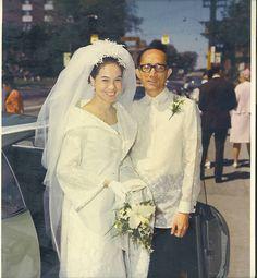 Yr 1970 Alba-ligon Wedding Toronto