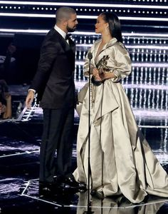 Drake and Rihanna at the 2016 MTV Video Music Awards