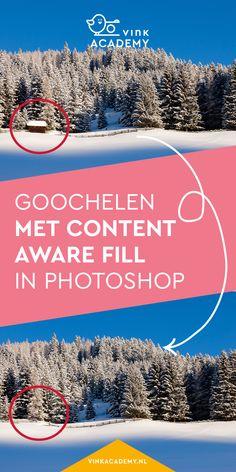 Goochelen met Photoshop: gebruik het Content Aware Fill om dingen te laten verdwijnen of juist te laten verschijnen. Het werkt verrassend goed! #fotobewerking #photoshop