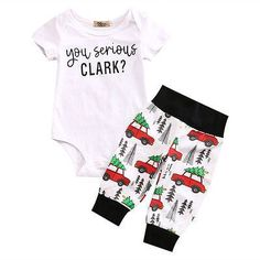 aby Christmas onesie - You Serious Clark? aby Christmas onesie - You Serious Clark? Baby Outfits, Kids Outfits, Baby Set, Baby Shower Gifts For Boys, Baby Boy Shower, Baby Boy Newborn, Baby Kids, Baby Baby, Baby Christmas Onesie