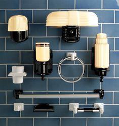 Chandler Streamline porcelain bath accessories // towel bar, single hook