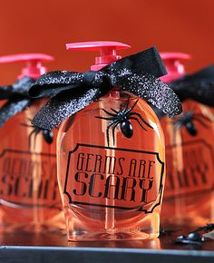 Keep away the colds that seem to appear in the fall with this party favor!