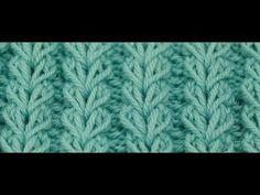 wheat ear slipped stitches ~~ Örgü Öğreniyorum - Buğday Başagi Örgü Modeli - YouTube