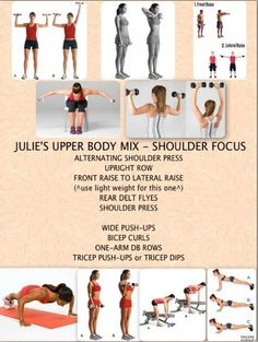 Upper body workout from Rita Catolino in String fitness ...