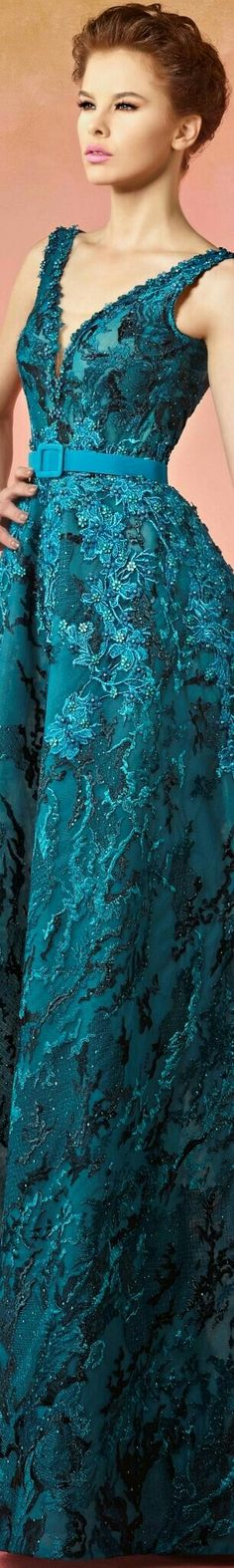 Floral Fashion, Fashion Dresses, Fashion Design, Blue Crush, Shades Of Teal, Evening Gowns, Ball Gowns, Turquoise, Formal Dresses