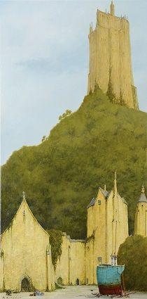 'St.Michaels Mount' by Cyril Croucher