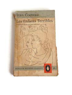 Les Enfants Terribles, Book by Jean Cocteau, Vintage Book, Penguin Modern Classics  #vintage