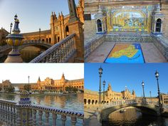 Sightseeing for the budget conscious in Seville, Spain! plaza-de-espana-sevilla