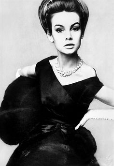 Jean Shrimpton photographed by Irving Penn for Vogue, 1962.