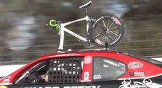 Video: Testando o rack de bike que funciona com ventosas em um ...