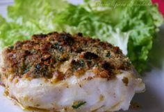 Receitas para a Felicidade!: Filetes de Pescada com Crosta Aromática