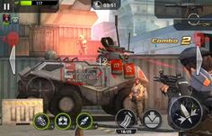 Rival Fire is a free 2 play Android, cover-based Shooter Multiplayer Game in real time Death Matches battle