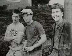 Sean penn with Tom Cruise & Timothy Hutton (Taps - 1981)