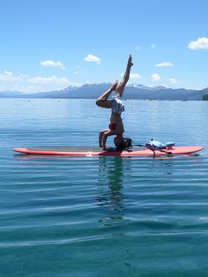 Mountains. Clear, Clean & Calm Lake Tahoe Water, Paddle Board & Yoga. You will feel brand new.