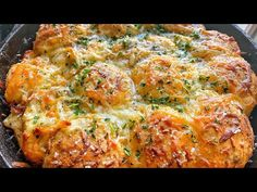 CHEESY STUFFED BISCUIT GARLIC BREAD!!! | QUARANTINE RECIPES - YouTube Garlic Cheese Biscuits, Canned Biscuits, Cheesy Garlic Bread, Stuffed Garlic Bread Recipe, Stuffed Biscuits, My Recipes, Bread Recipes, Dinner Recipes, Cooking Recipes