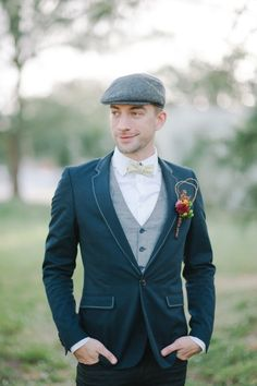 Modern Old-Fashioned Elopement