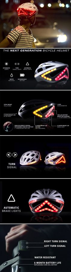 Lumos Smart Bike Helmet with Wireless Turn Signal Handlebar Remote and Built-In Motion Sensor