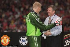 Another of Ferguson's most inspired signings, Peter Schmeichel, said he was very surprised by the announcement. 'I'm shocked - I just can't make sense of the timing,' he told Sky Sports News. 'It has come as a bombshell, I really don't know what to make of it.
