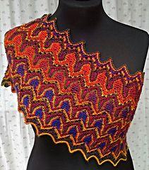 Petal Cowl by Xandy Peters knitting pattern $5.00