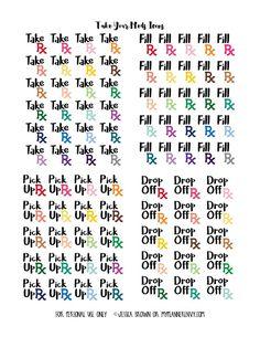 Take Your Meds Printable from myplannerenvy.com