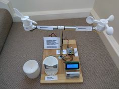 DIY Weather Station Created Using Arduino And Printing - Geeky Gadgets Impression 3d, Diy Electronics, Electronics Projects, 3d Printing Service, Printing Services, Personal Weather Station, Global Weather, 3d Printing Materials, 3d Printer Designs