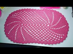 Crochet Hats, Mary, Youtube, Crochet Carpet, Oval Rugs, Wind Spinners, Crochet Designs, Hand Embroidery, Spirals