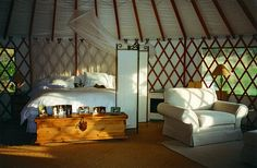 The mother-in-law yurt, on a few acres in southern Oregon, please.