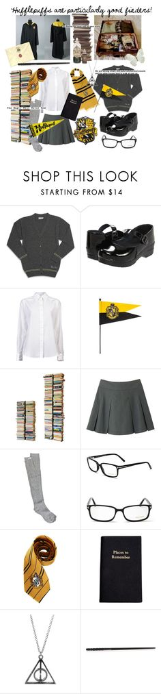 """""""HOUSE PRIDE"""" by peachy-queen ❤ liked on Polyvore featuring Dansko, Holmes & Yang, Radius Design, Uniqlo, RVCA, Tom Ford, Leathersmith and harrypotter"""