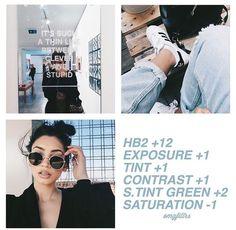Instagram filter w/ VSCO