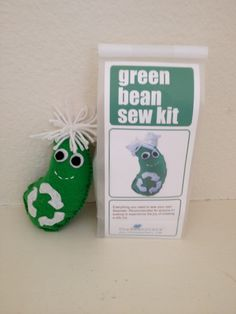 Earth day kids sew kit- this would be super easy for the daisy's to make to go towards their Green Petal.