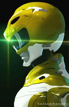 Yellow Ranger Redesign by Donovan Liu on ArtStation.