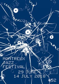 © Montreux Jazz Festival 2018 / Artwork Christian Marclay / Design Laurent Benner